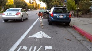 Door Zone Bike Lane
